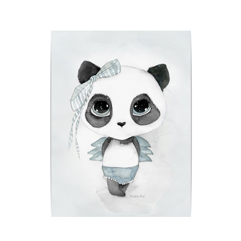Panda Signe By Christine Hoel